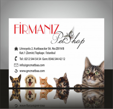 Pet Shop Kartvizitleri